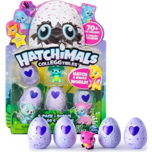 Hatchimals Colleggtibles 4 pack + bonus