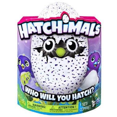 Hatchimal Draggles paars