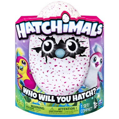 Hatchimal Pengualas roze